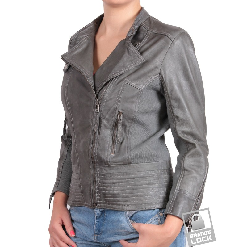 Women's Leather Jackets Our collection of women's leather jackets are crafted from premium leather and suede fabrics with classic biker jacket detailing. Designed to age timelessly.