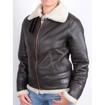 Women bomber jacket black - Luiz
