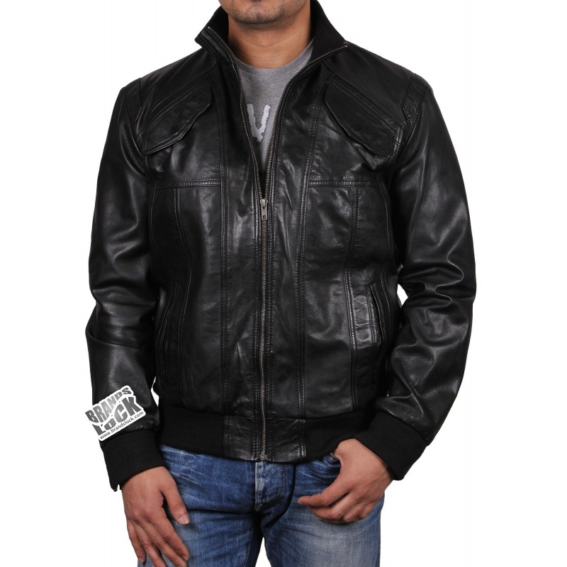 The bomber jacket. This iconic, ruggedly handsome staple of men's sportswear was originally made famous by U.S. fighter pilots. Today, we like to think our modernized take is helping this look go legendary. Made from buttery soft broken-in leather, our men's Leather Bomber Jacket is designed to feel like a longtime favorite from day one, and only improve with time and wear/5(2).
