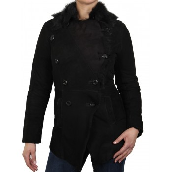 Womens Sheepskin Leather Jacket - Betty