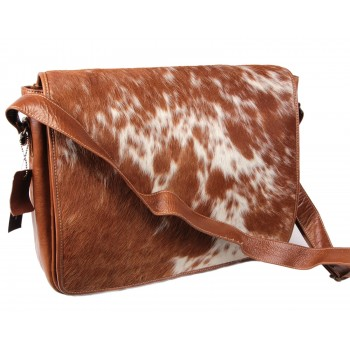 Brown leather Messenger Bag - Daraz