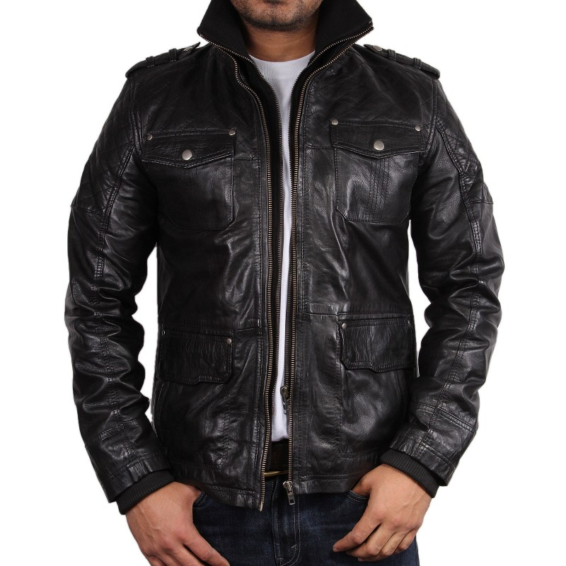 Black Leather Jacket - Tales