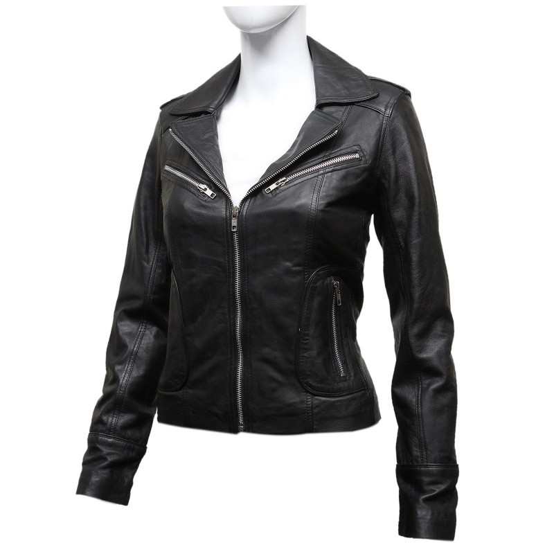 Vintage leather jackets for women