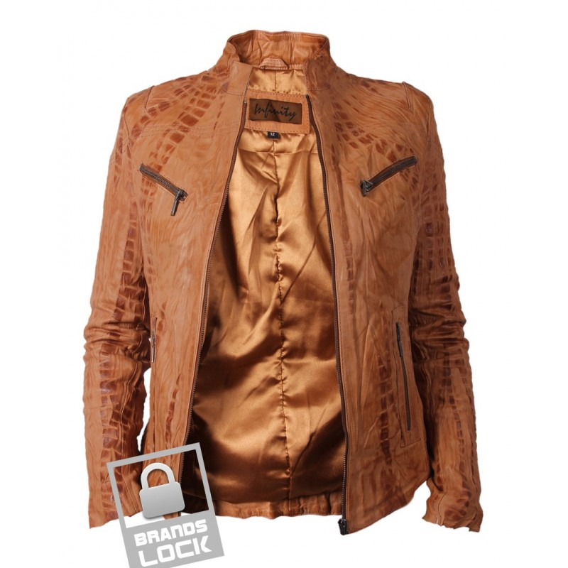 Womens leather jacket clearance