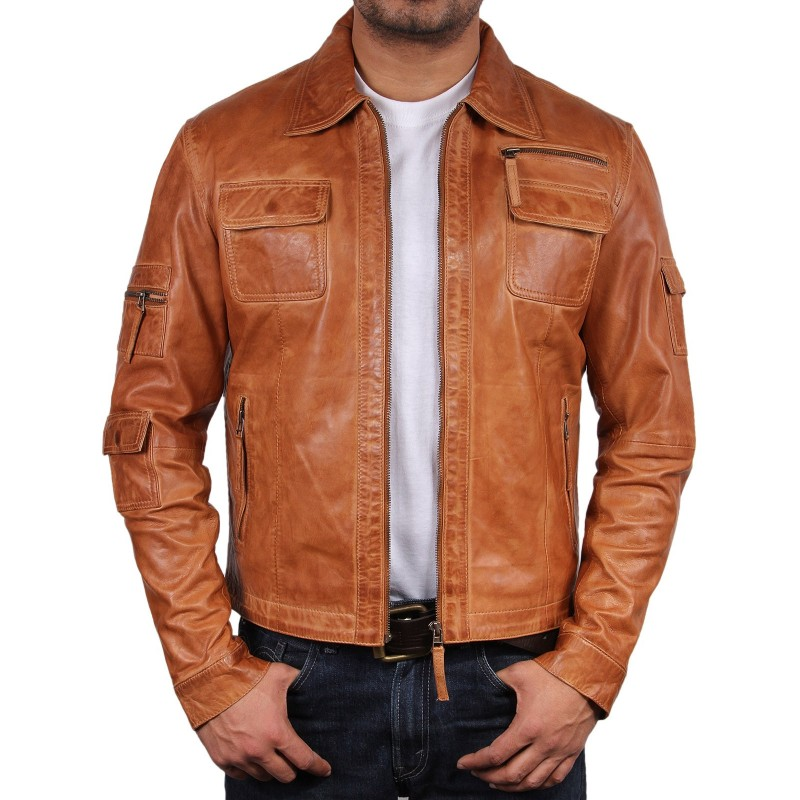 Image result for Mens leather vest collection in brown color