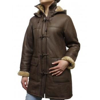 Women Shearling sheepskin Jacket - Inami