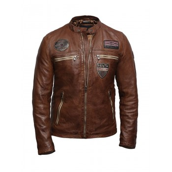 Men's Lambskin Leather Superior Quality Veg Leather Designer Style