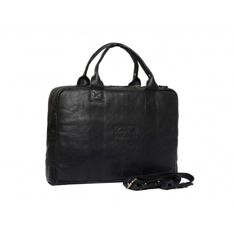Unisex Genuine Leather Laptop Messenger Handbag Business Briefcase