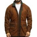 Mens Winter Parka Rustic Coat Retro