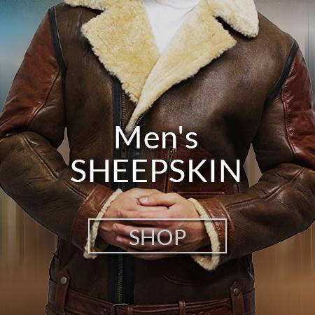 Men Sheepskin Jackets